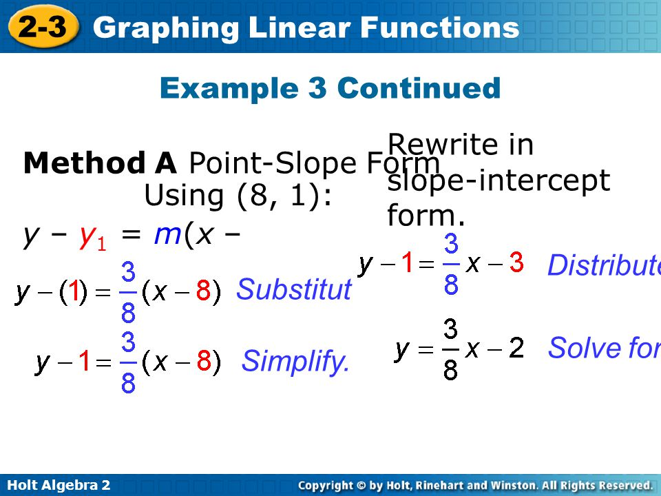 Objectives Determine whether a function is linear. - ppt video ...