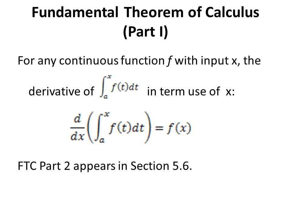 Images of Fundamental Theorem Of Calculus Khan Academy - #rock-cafe
