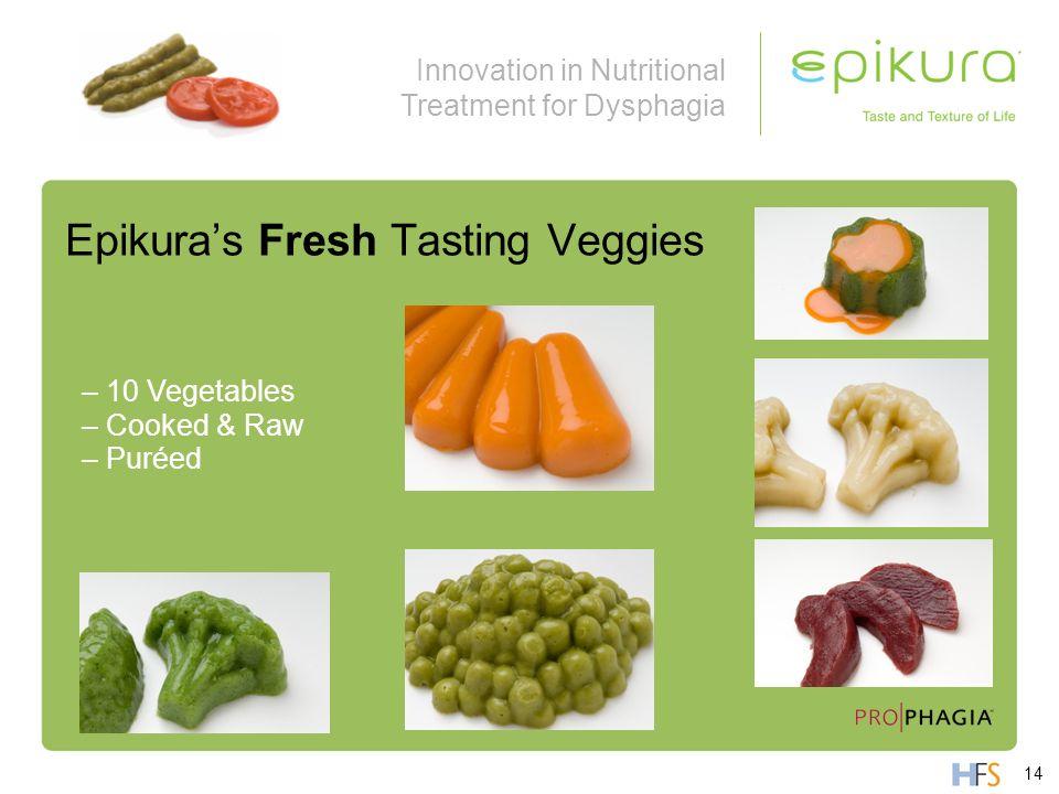 Epikura's Fresh Tasting Veggies