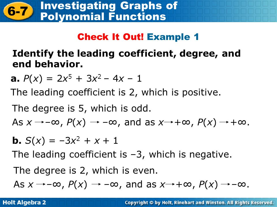 Even Function Coefficient Positive And Degree Leading 7