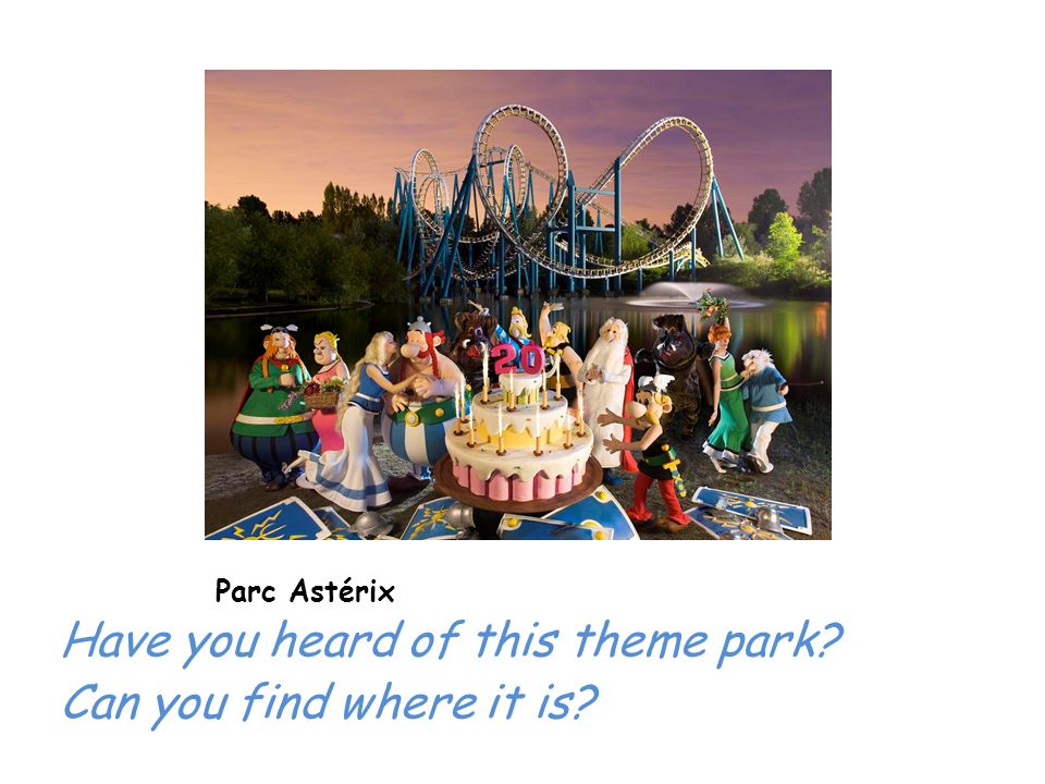 Have you heard of this theme park Can you find where it is