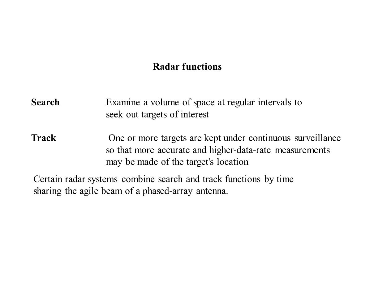 US8134492B1 - Method for scanning a radar search volume ...