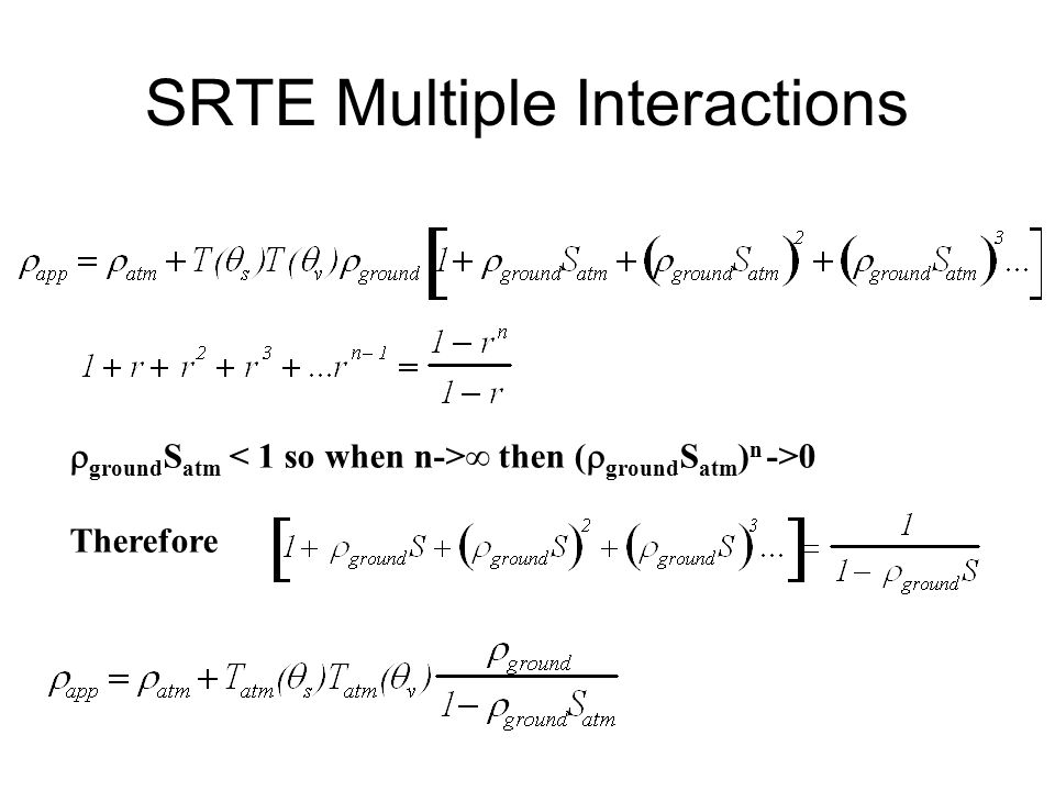 SRTE Multiple Interactions