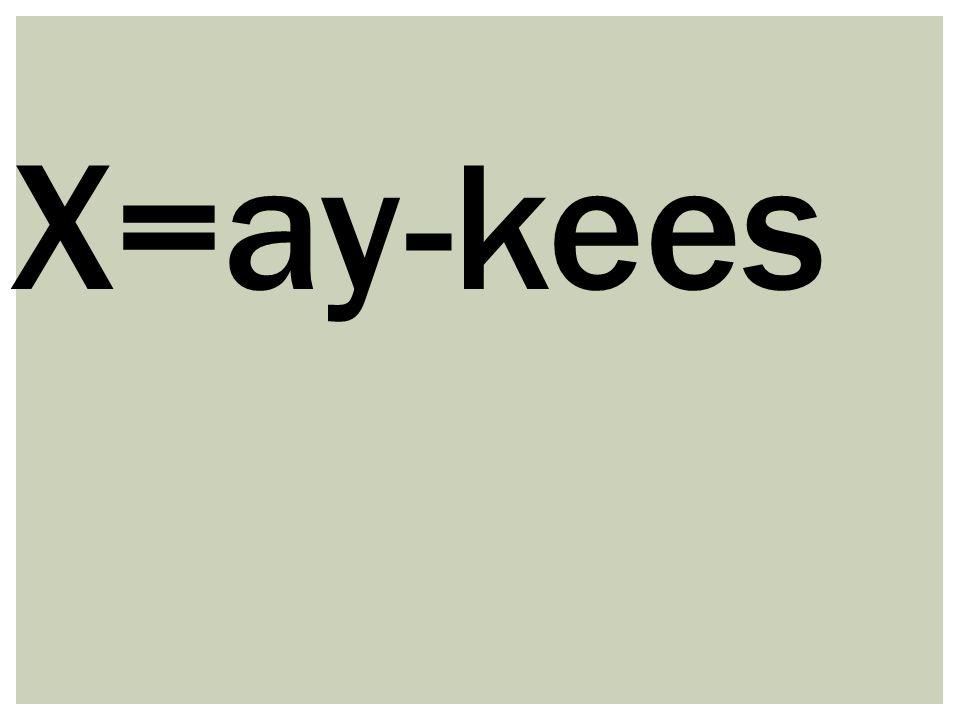 X=ay-kees