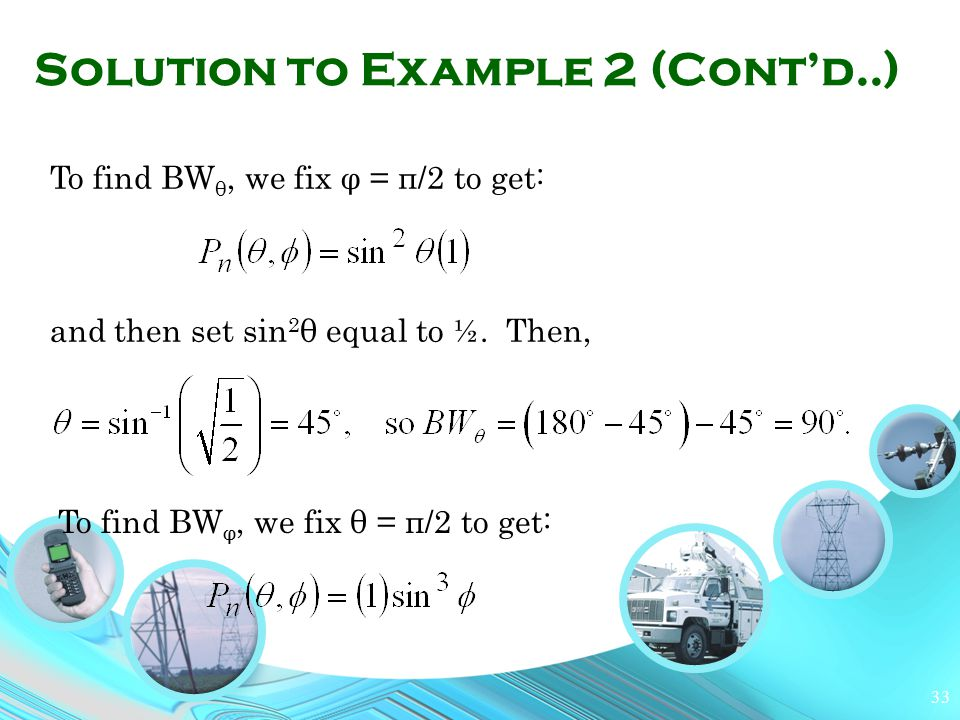Solution to Example 2 (Cont'd..)