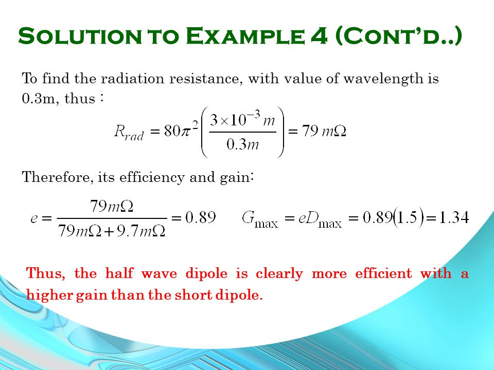 Solution to Example 4 (Cont'd..)