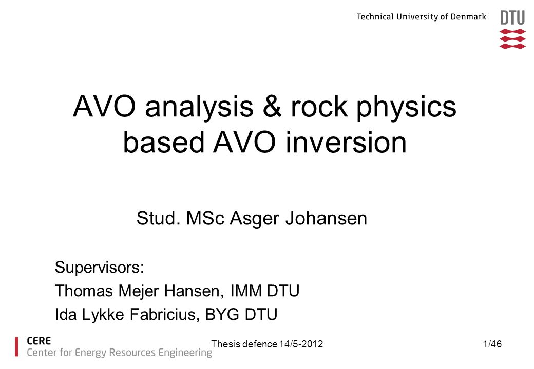 AVO analysis & rock physics based AVO inversion