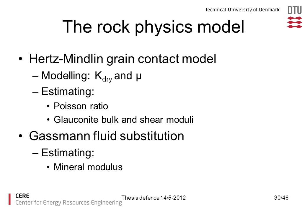 The rock physics model Hertz-Mindlin grain contact model