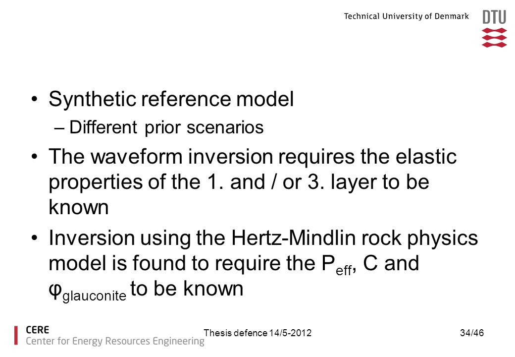 Synthetic reference model