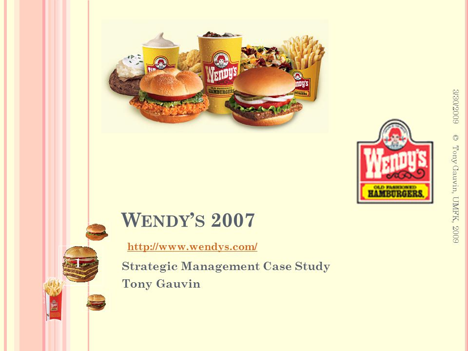 efe matrix for wendys Extending the competitive profile matrix using internal factor evaluation and external factor evaluation matrix concepts  journal of wine research.