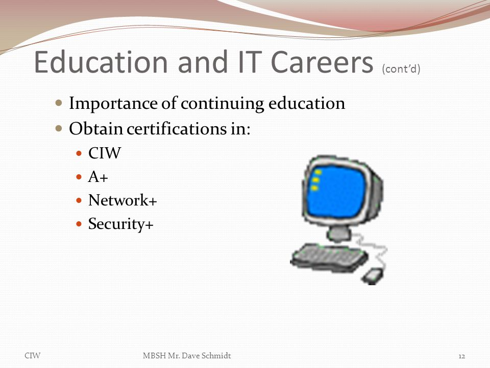Lesson 1 Introduction To It Business And Careers Ppt
