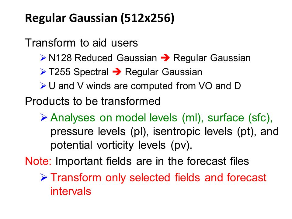 Regular Gaussian (512x256) Transform to aid users