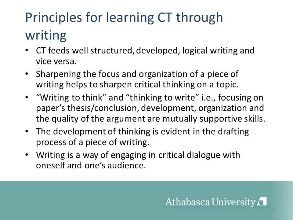 principles of learning essay This article is written like a personal reflection or opinion essay that states a  learn to discover principles,  guiding learning in constructivism,.