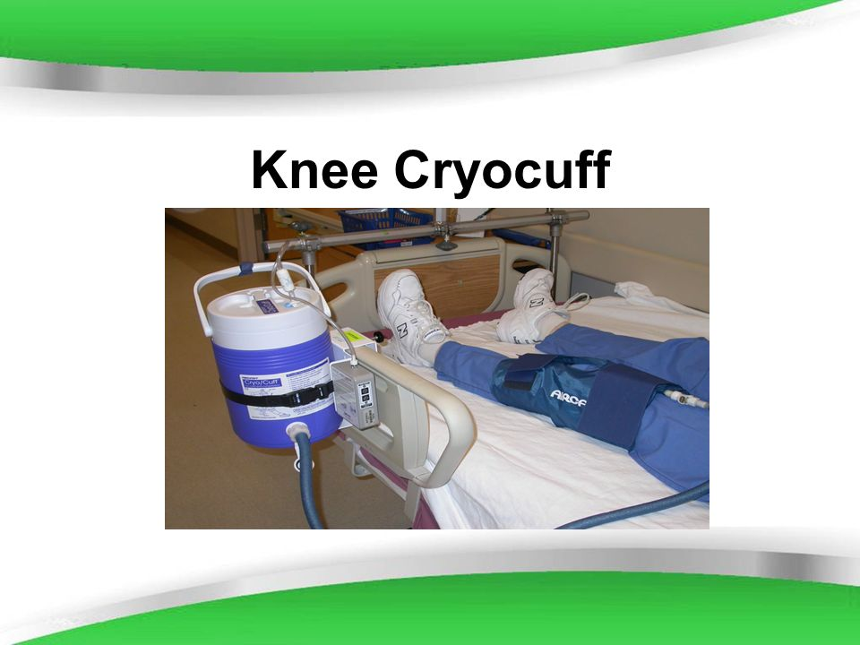 Knee Cryocuff