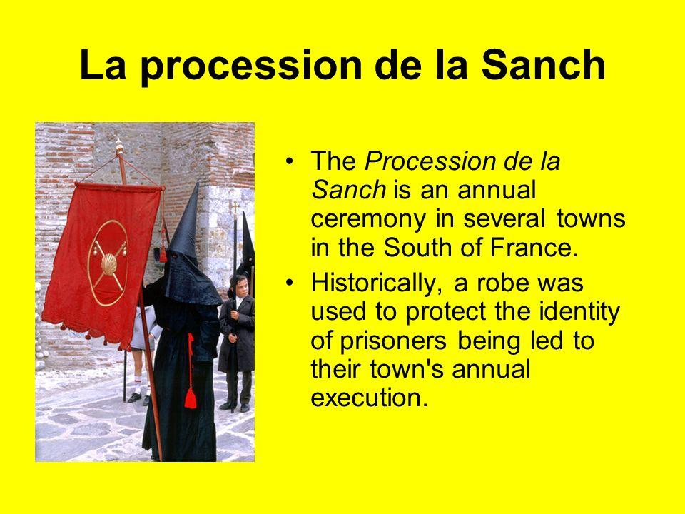 La procession de la Sanch