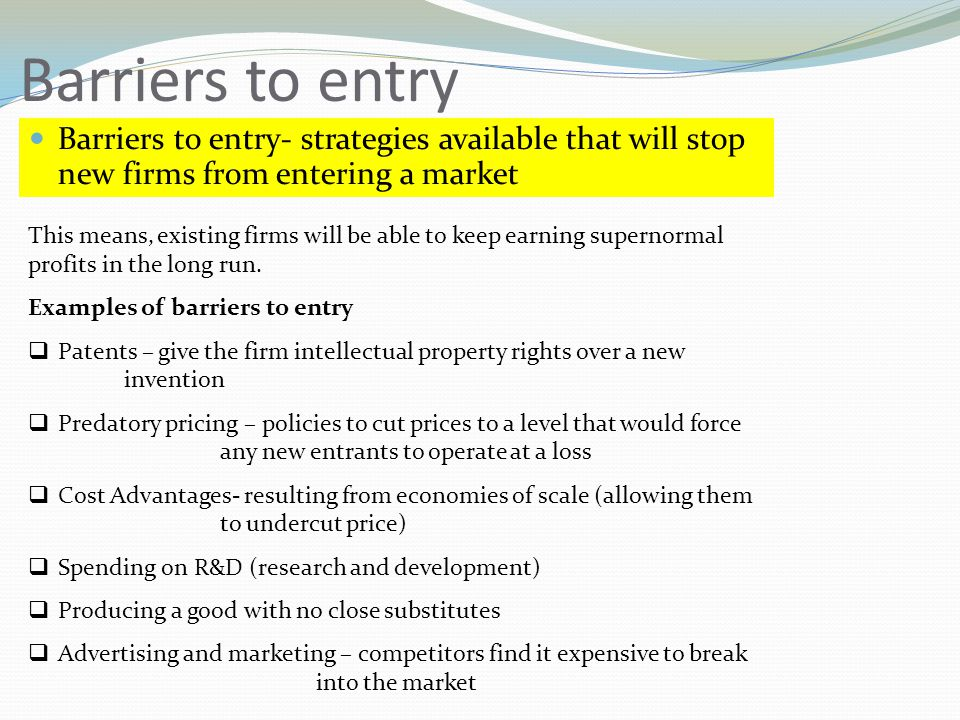 barriers to entry supermarkets Issue 28 march 2010  update  13 the grocery game in australia what is  planning and zoning reduces barriers to entry zoning and planning issues act.