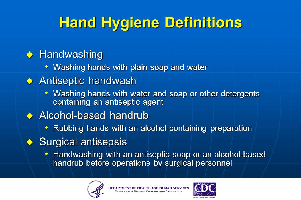benefits of infection control guidelines in childcare