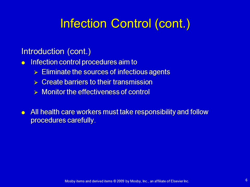 principles of infection control Free essay: unit 4222-264 the principles of infection prevention and control (ic 01) outcome 1 – understand roles and responsibilities in the prevention and.