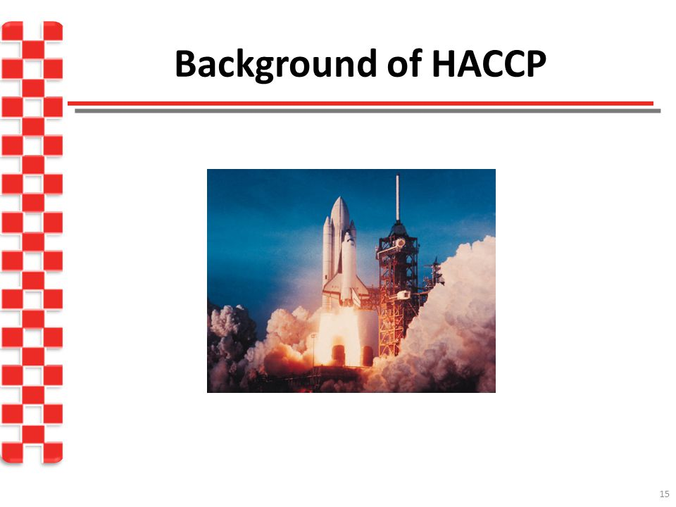 Background of HACCP