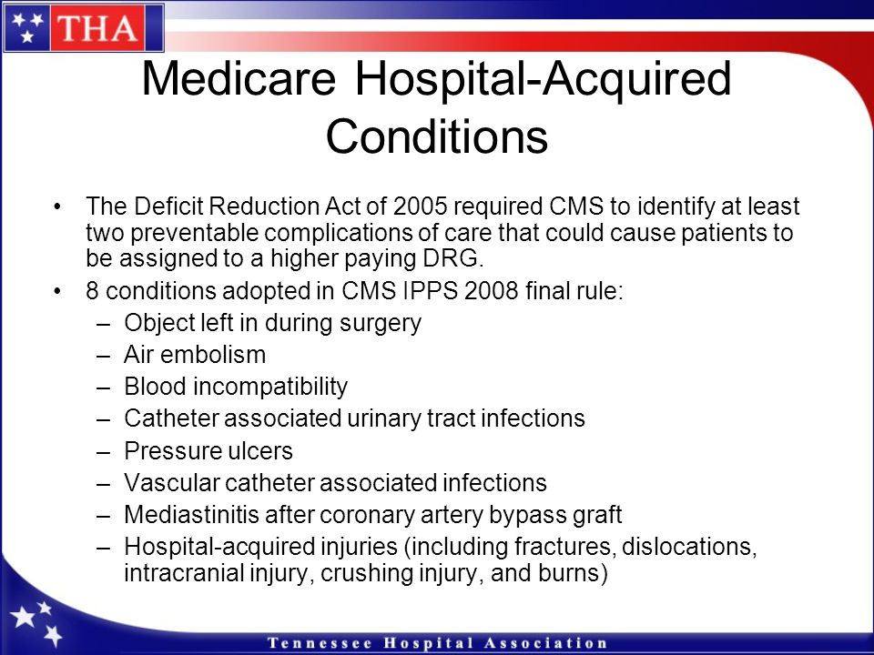 Medicare Hospital-Acquired Conditions