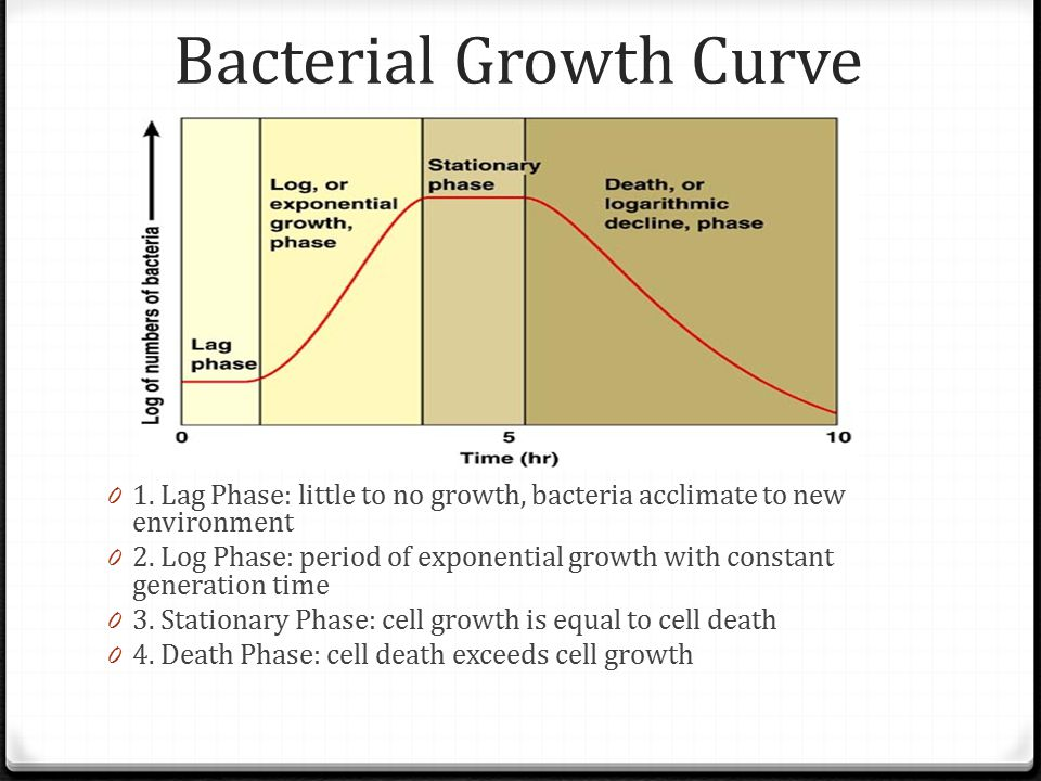 bacterial growth and controlling bacterial growth essay 7 control of microbial growth 1 control of microbial growth  chapter 7 2 terminology sepsis refers to microbial.