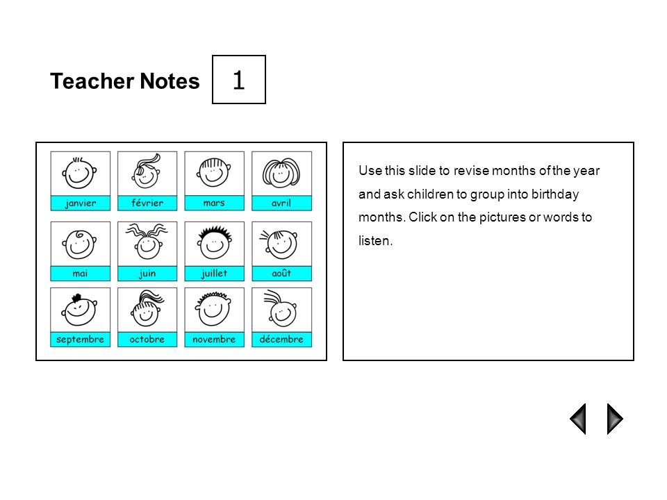 1 Teacher Notes.