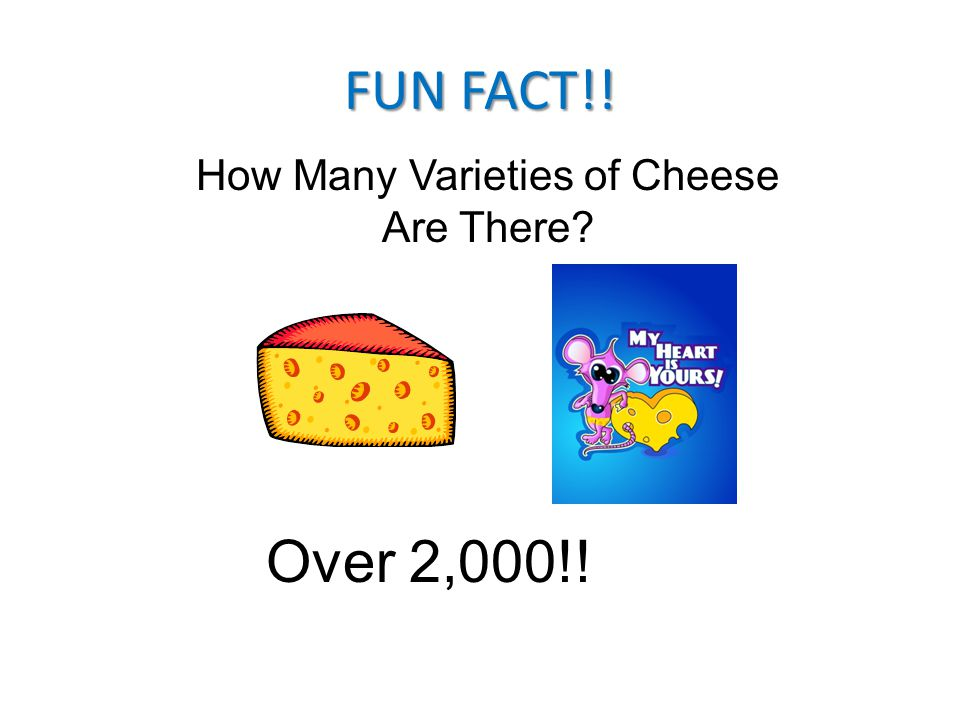 How Many Varieties of Cheese Are There