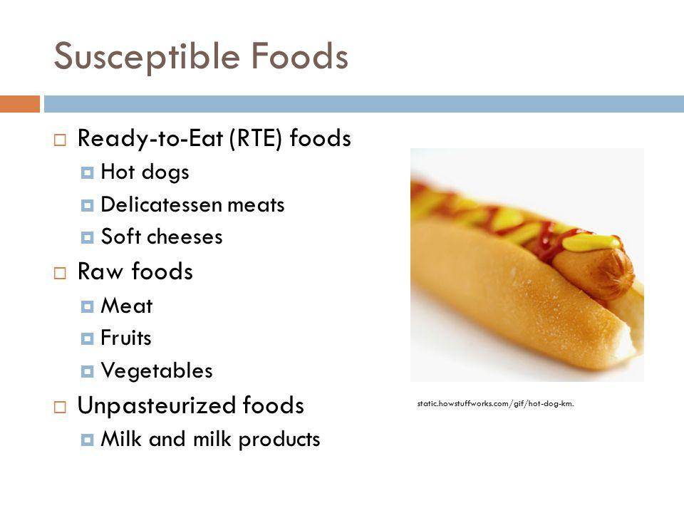 Hot Dogs Diarrhea Pathogen