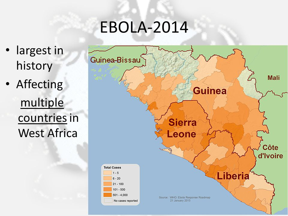 EBOLA-2014 largest in history Affecting