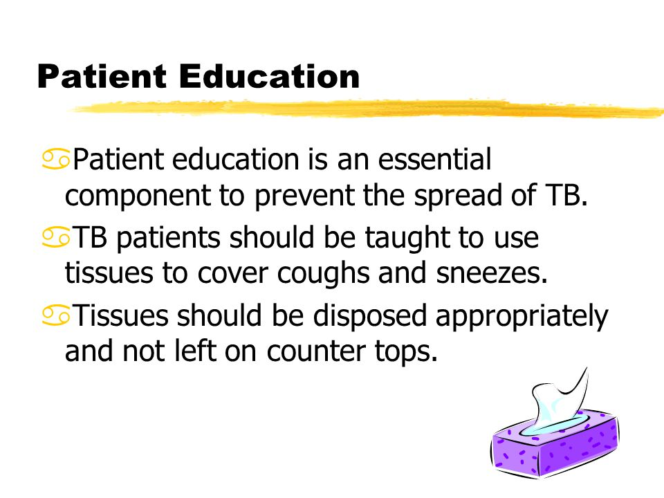 strategies to prevent the spread of tuberculosis The purpose of these policies is to  s with respiratory tb disease,.