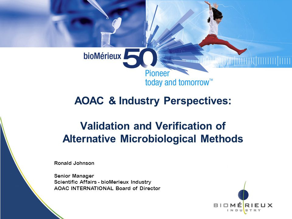 AOAC ERP for Microbiology Methods Grants Official First ...