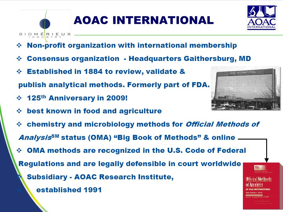 AOAC INTERNATIONAL Methods Committee Guidelines for ...
