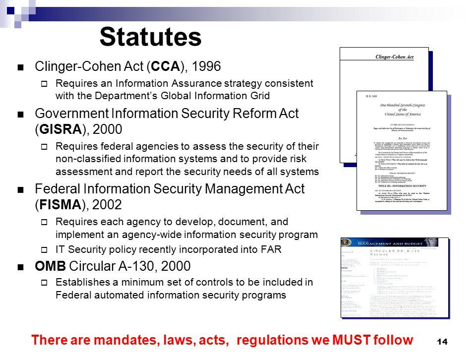 Classified Information Procedures Act