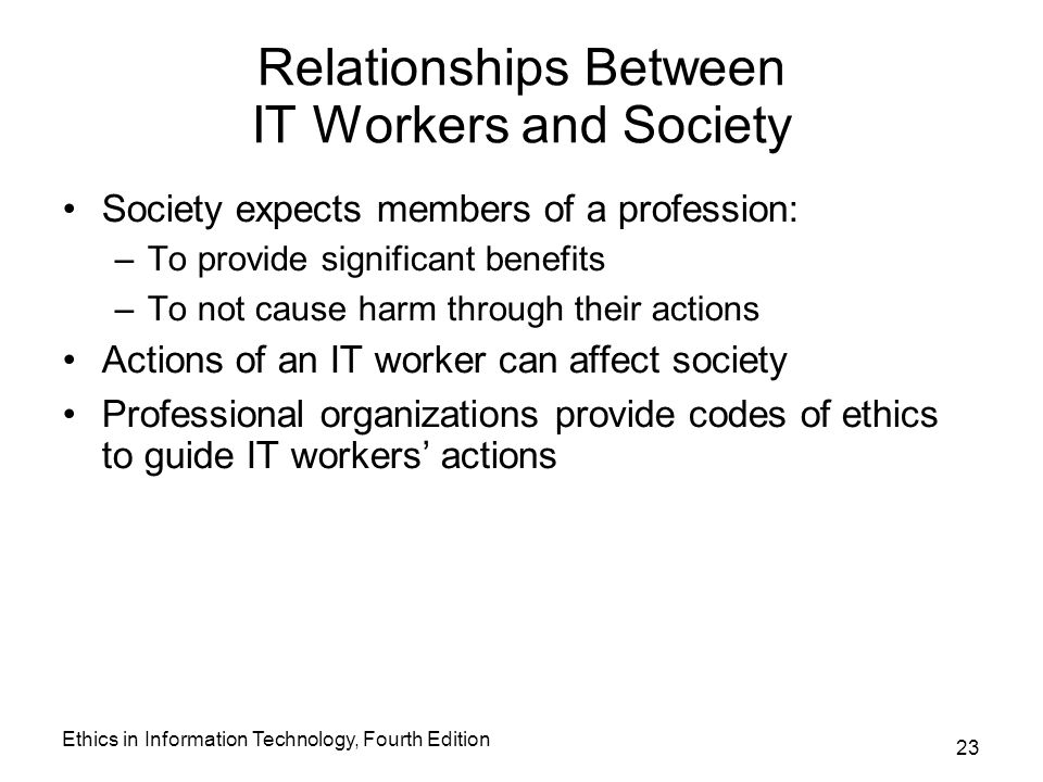 the importance of the relationship between a society and technology Strongly evident by the relationships among better nursing work environments, better quality nursing care, and patient satisfaction is the importance of supporting the fundamentals of quality nursing care as technology is integrated into practice.