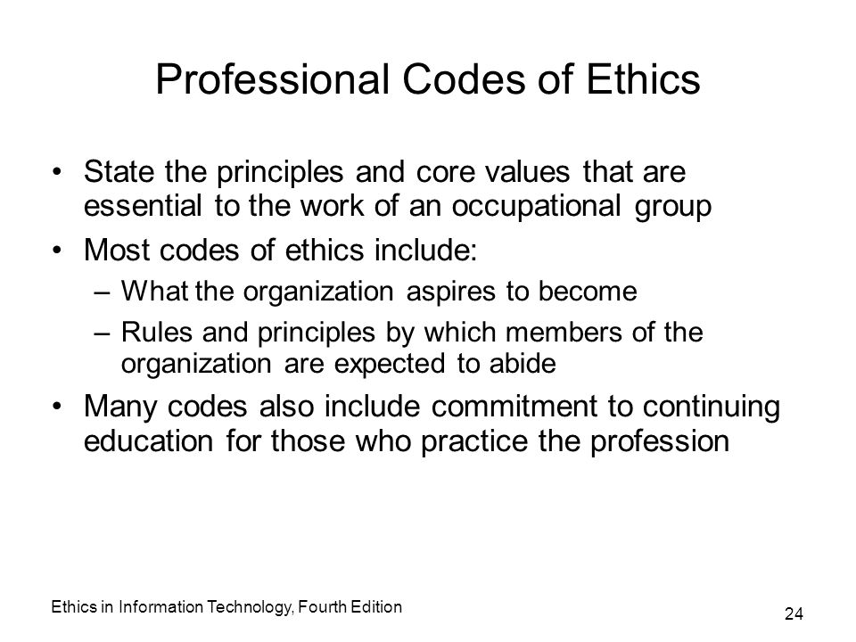 professional standards and codes of ethics Standards of practice and code of ethics introduction aging life care professionals™ (also known as geriatric care managers) have varied educational and professional backgrounds with a.