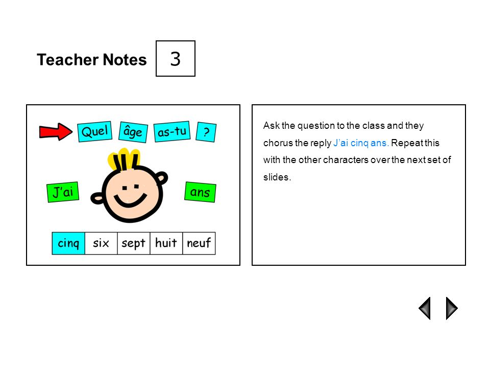 3 Teacher Notes.