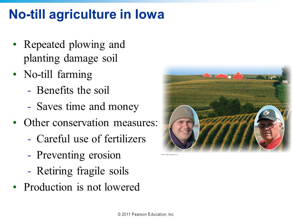 No-till agriculture in Iowa