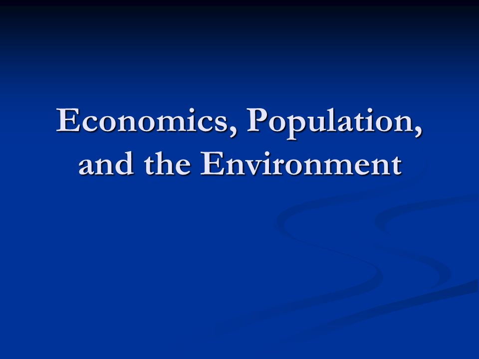 economics of the environment She is currently working on an article called addicted to growth, which illustrates interactions between economic growth and economic, environmental and societal sustainability and proposes remedial actions.