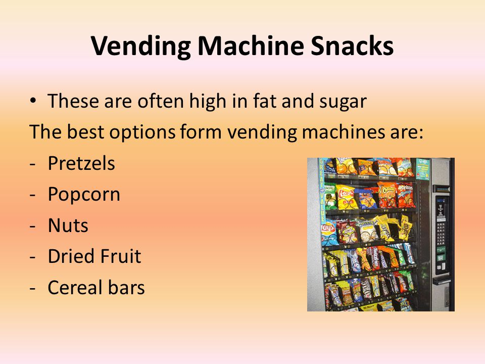 Vending Services Business Plan