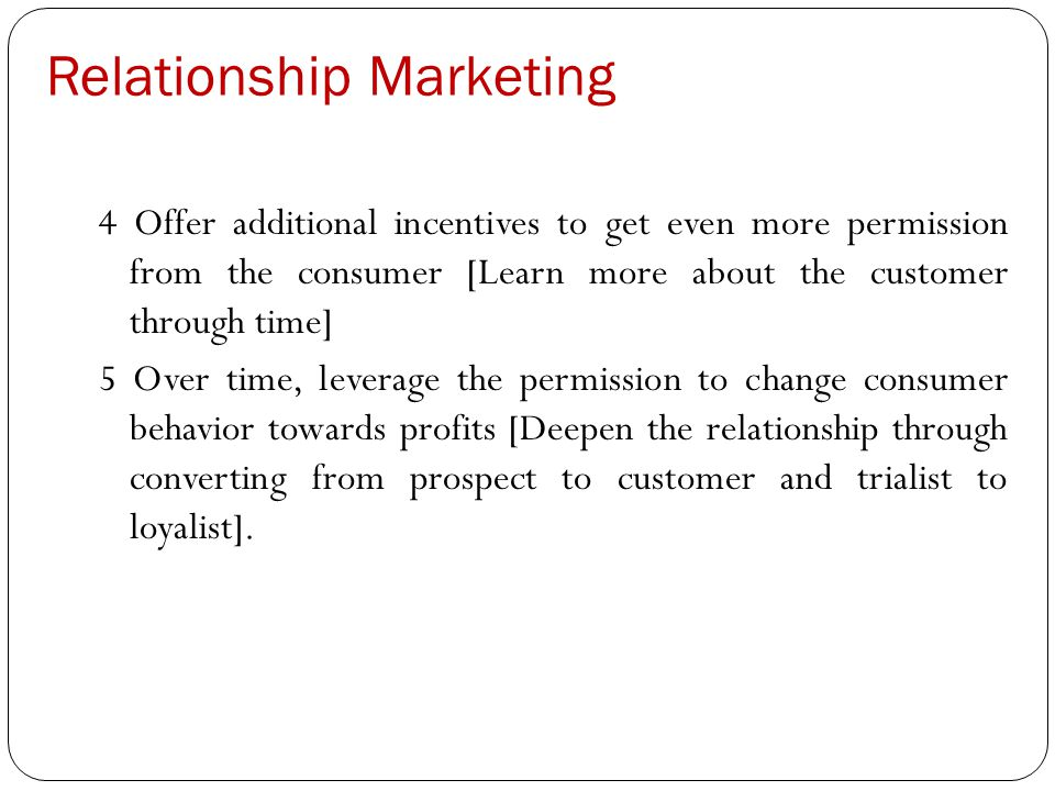 reflections on relationship marketing in consumer markets