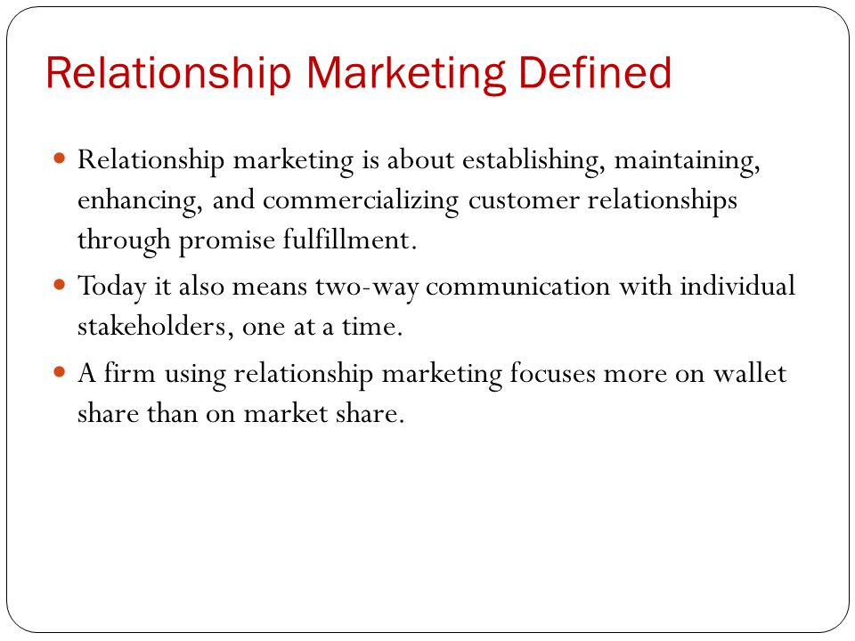 developing customer relationships through marketing communications 25 helpful resources for building customer relationships  how to nurture relationships with email marketing  and expand those relationships through the.