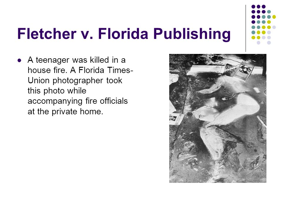 Fletcher v. Florida Publishing