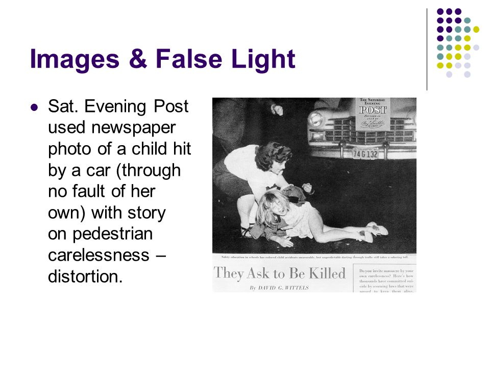 Images & False Light
