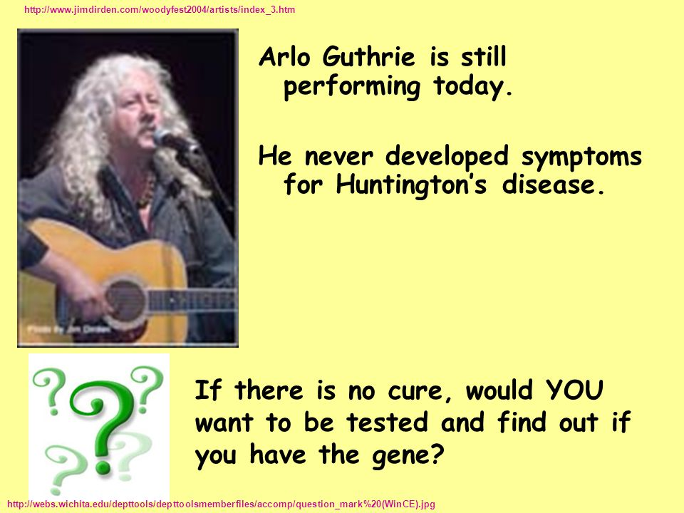 Arlo Guthrie is still performing today.