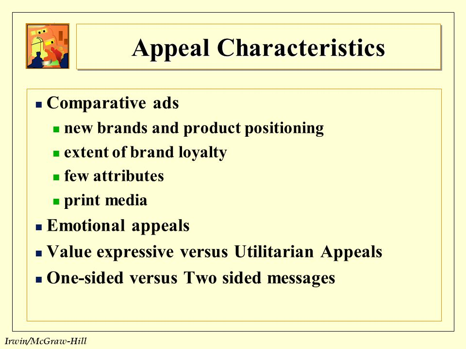 Appeal Characteristics
