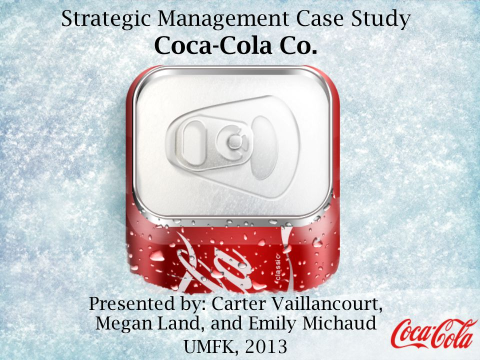 coca cola case study marketing management
