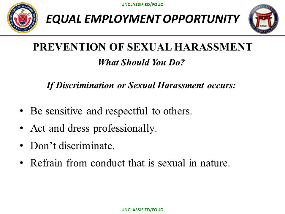 Do and of sexual harassment
