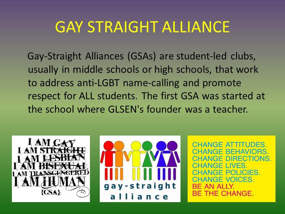 Gay Straight Alliance History 30