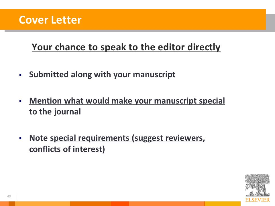 cover letter for submitting paper to journal - how to write a great paper and get it accepted by a good