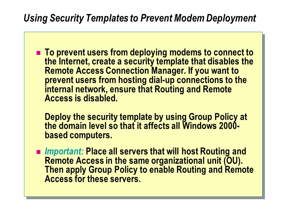 access control policy template - module 12 providing secure internet access to network
